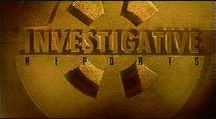 Investigative Reports next episode air date poster