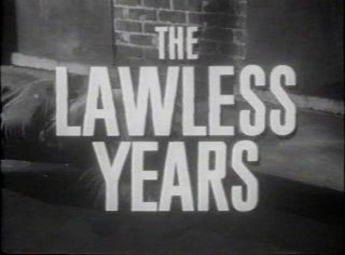 The Lawless Years next episode air date poster