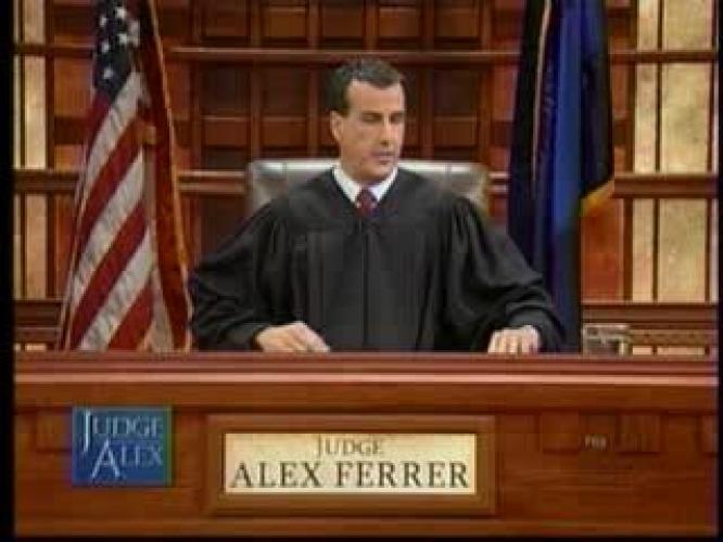 Judge Alex next episode air date poster