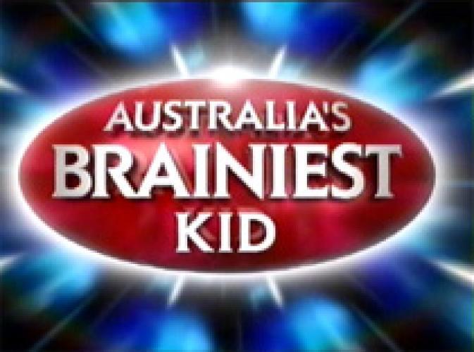 Australia's Brainiest Kid next episode air date poster
