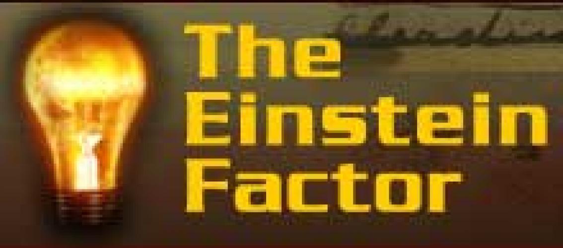 The Einstein Factor next episode air date poster