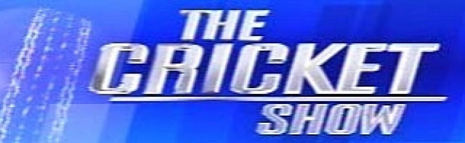 The Cricket Show next episode air date poster