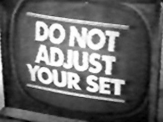Do Not Adjust Your Set next episode air date poster