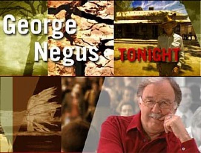 George Negus Tonight next episode air date poster