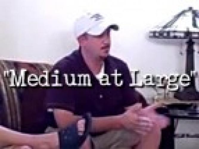 Medium at Large next episode air date poster