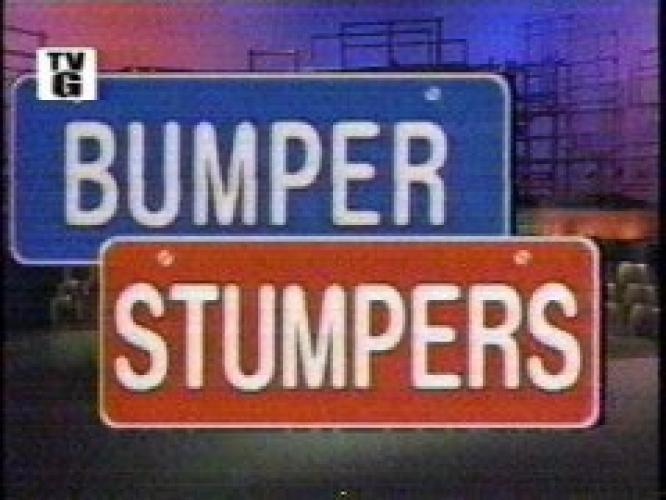 Bumper Stumpers next episode air date poster