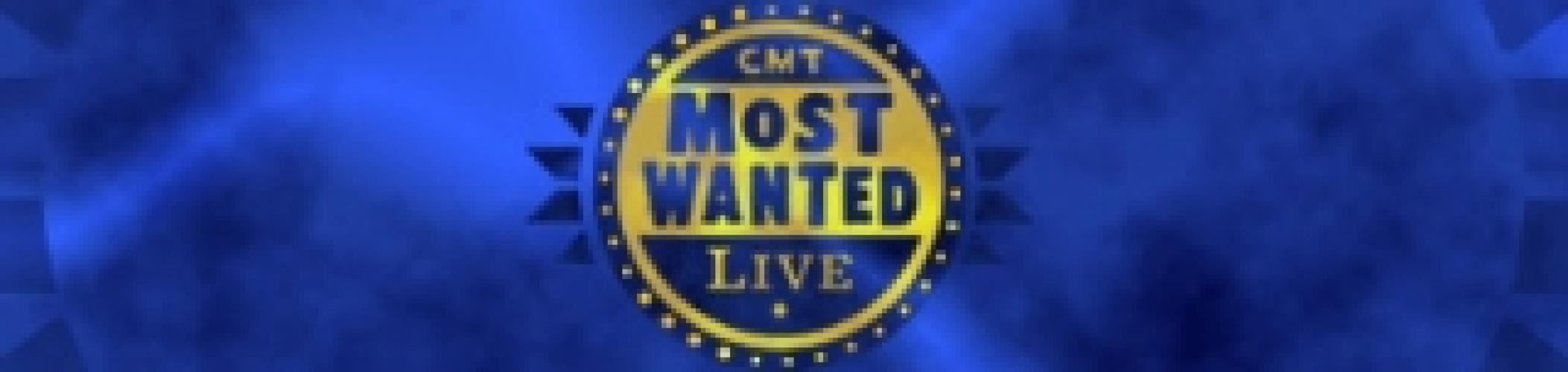 CMT Most Wanted Live next episode air date poster