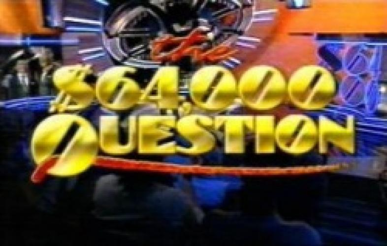 The $64,000 Question next episode air date poster