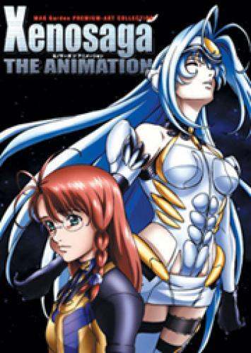 Xenosaga: The Animation next episode air date poster