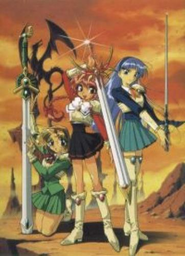 Magic Knight Rayearth next episode air date poster