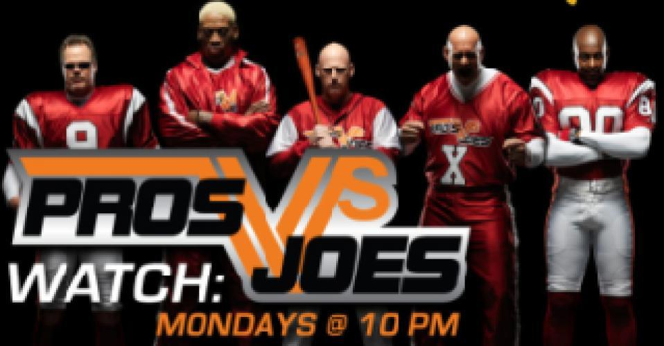 Pros vs. Joes next episode air date poster