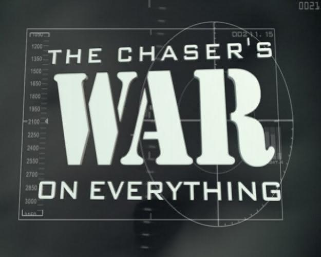 The Chaser's War on Everything next episode air date poster