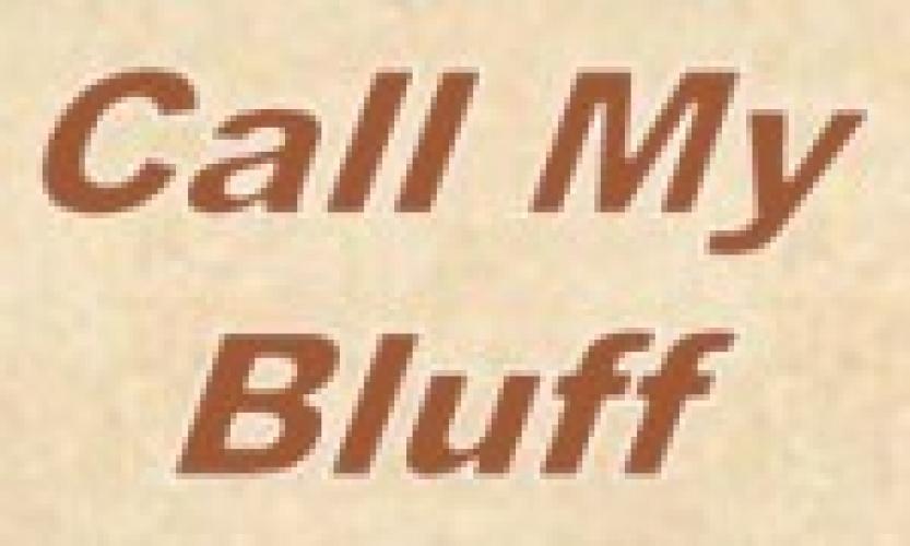 Call My Bluff (US) next episode air date poster