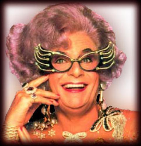 The Dame Edna Experience next episode air date poster