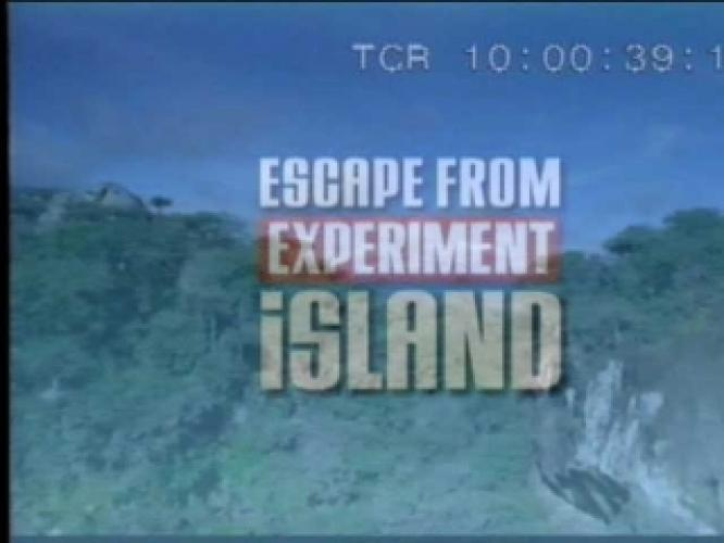 Escape from Experiment Island next episode air date poster