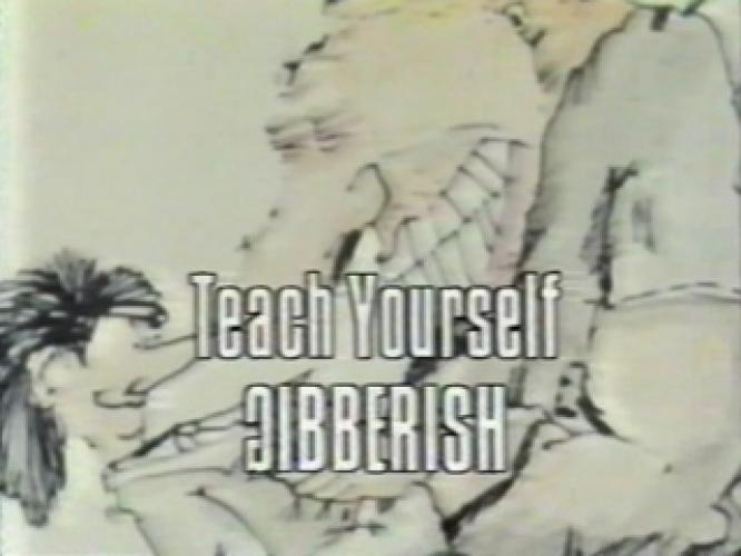 Teach Yourself Gibberish next episode air date poster