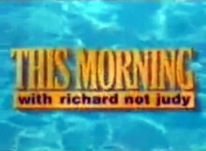 This Morning With Richard Not Judy next episode air date poster