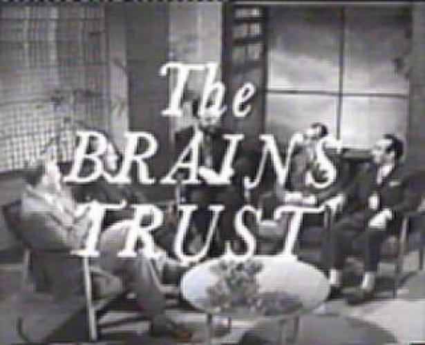 The Brains Trust next episode air date poster
