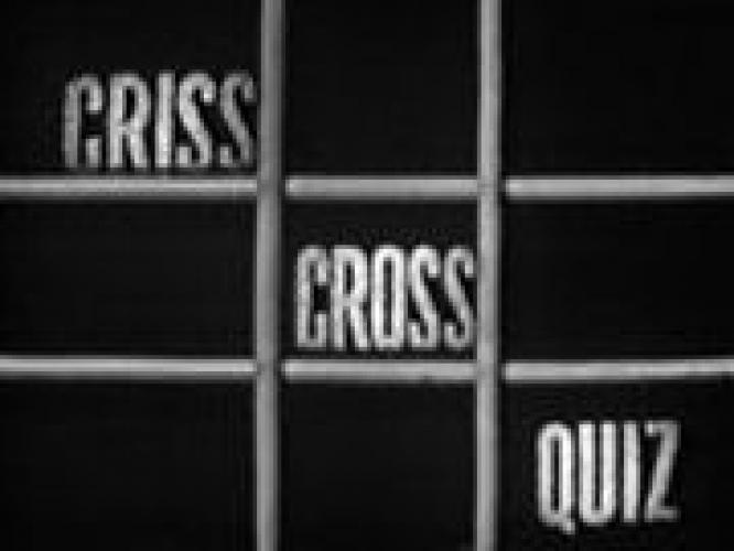 Criss Cross Quiz next episode air date poster