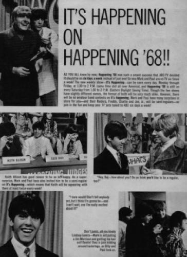 Happening '68 next episode air date poster